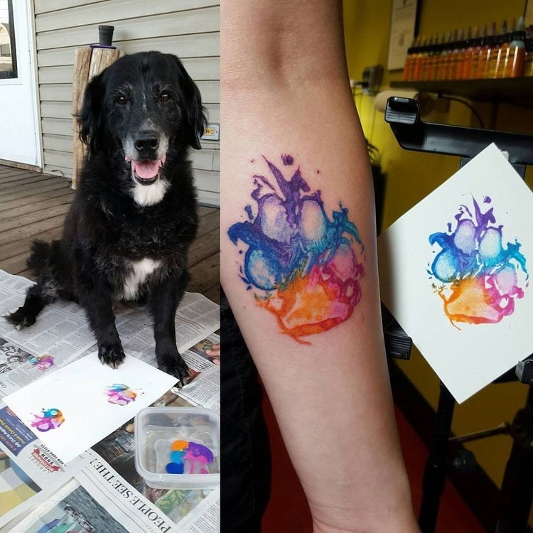 750x750 People Are Branding Themselves With Dog Paw Tattoos