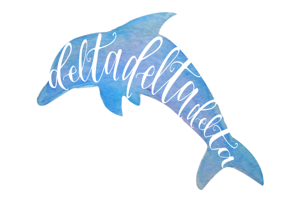 1000x714 Dolphin Watercolor Print Hayley Bush Calligraphy And Design