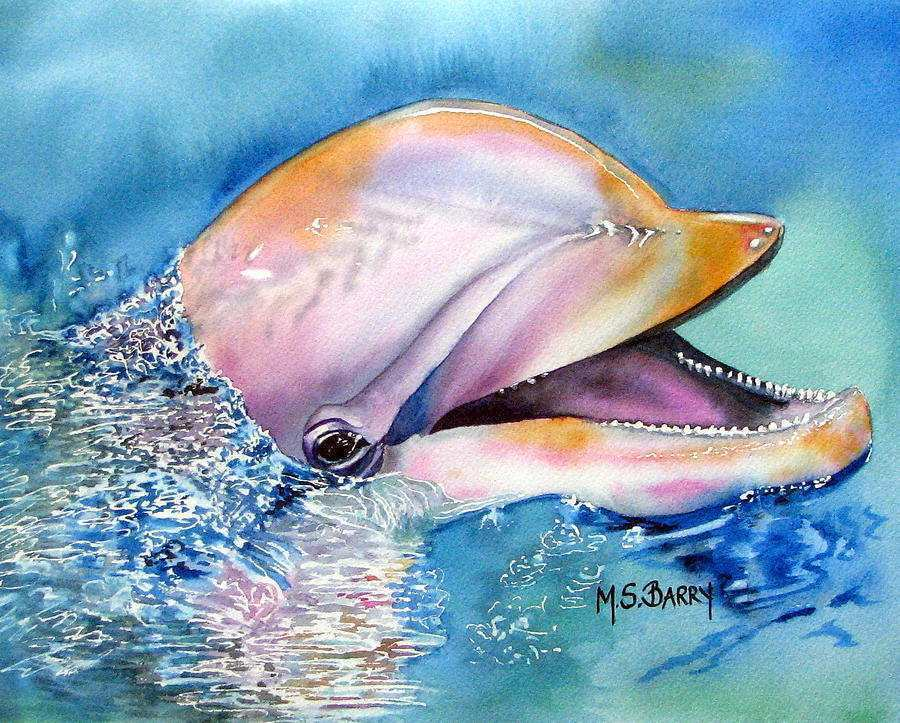 900x723 Dolphin Painting Inspirational Dolphin Watercolor Painting Dolphin
