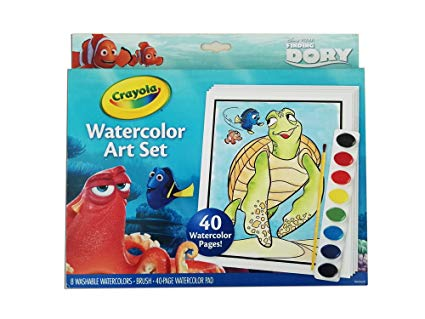 425x319 Crayola Finding Dory Watercolor Art Set Toys Amp Games