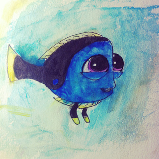 320x320 Baby Dory Watercolor!!