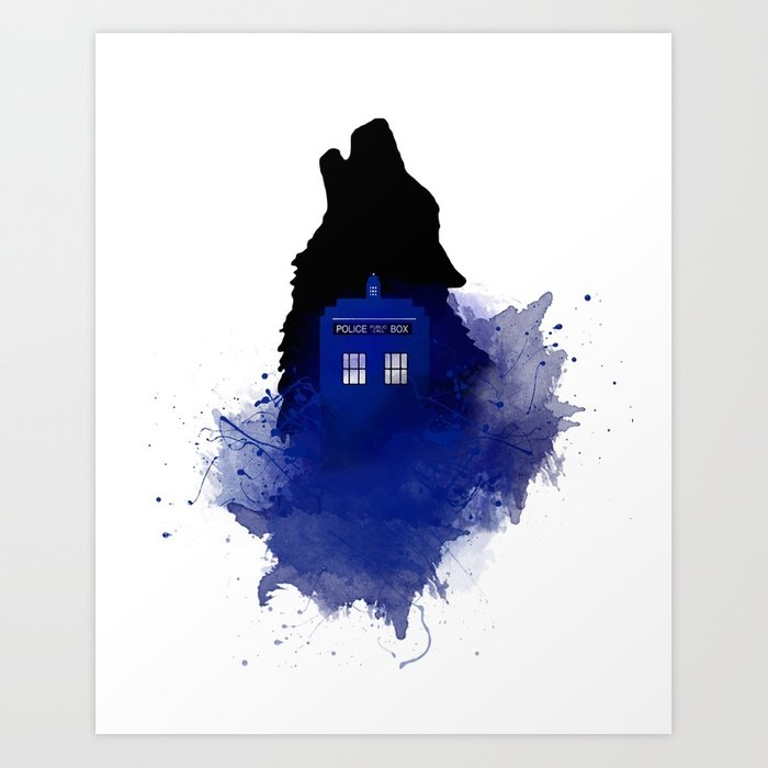 700x700 Dr.who, Art, Design, Dr. Who Art, Badwolf, Bad Wolf Art Print By