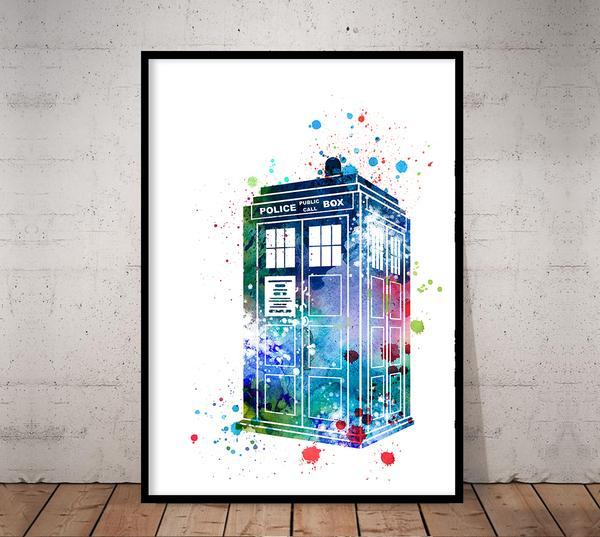 600x537 Tardis, Dr Who