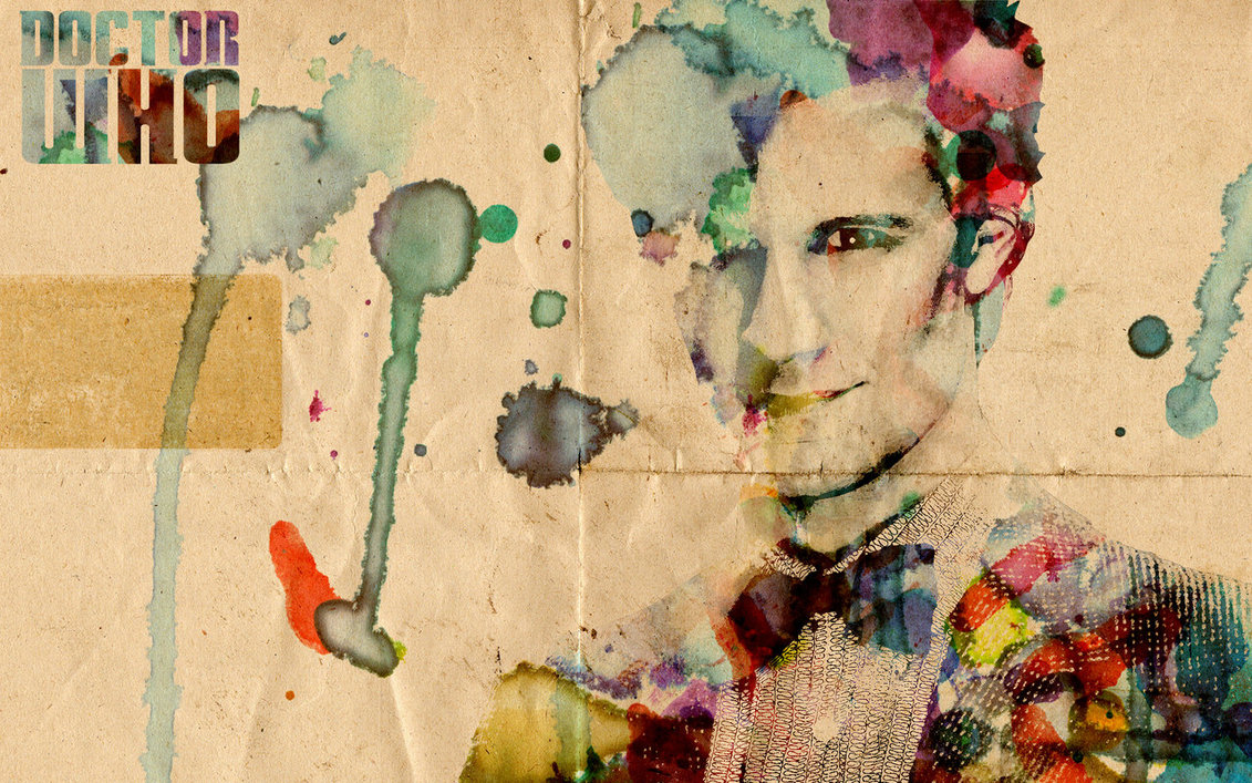 1131x707 Watercolor Doctor Who By Denalim
