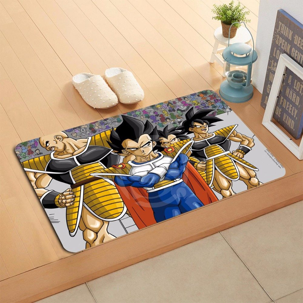 1000x1000 W620 1 Custom Dragon Ball Z Anime Watercolor Painting Doormat