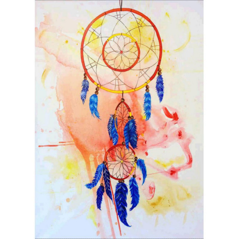 800x800 2018 New Diy Dreamcatcher Diamond Painting Home Decor Rhinestones