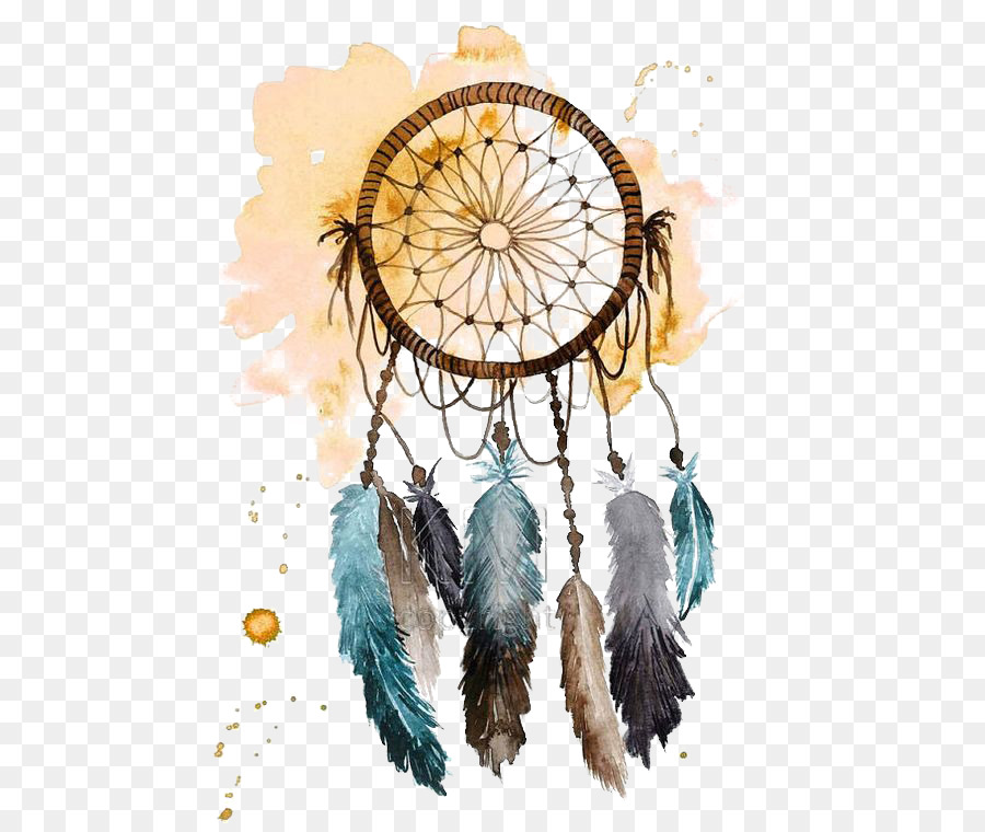 900x760 Dreamcatcher Watercolor Painting Drawing