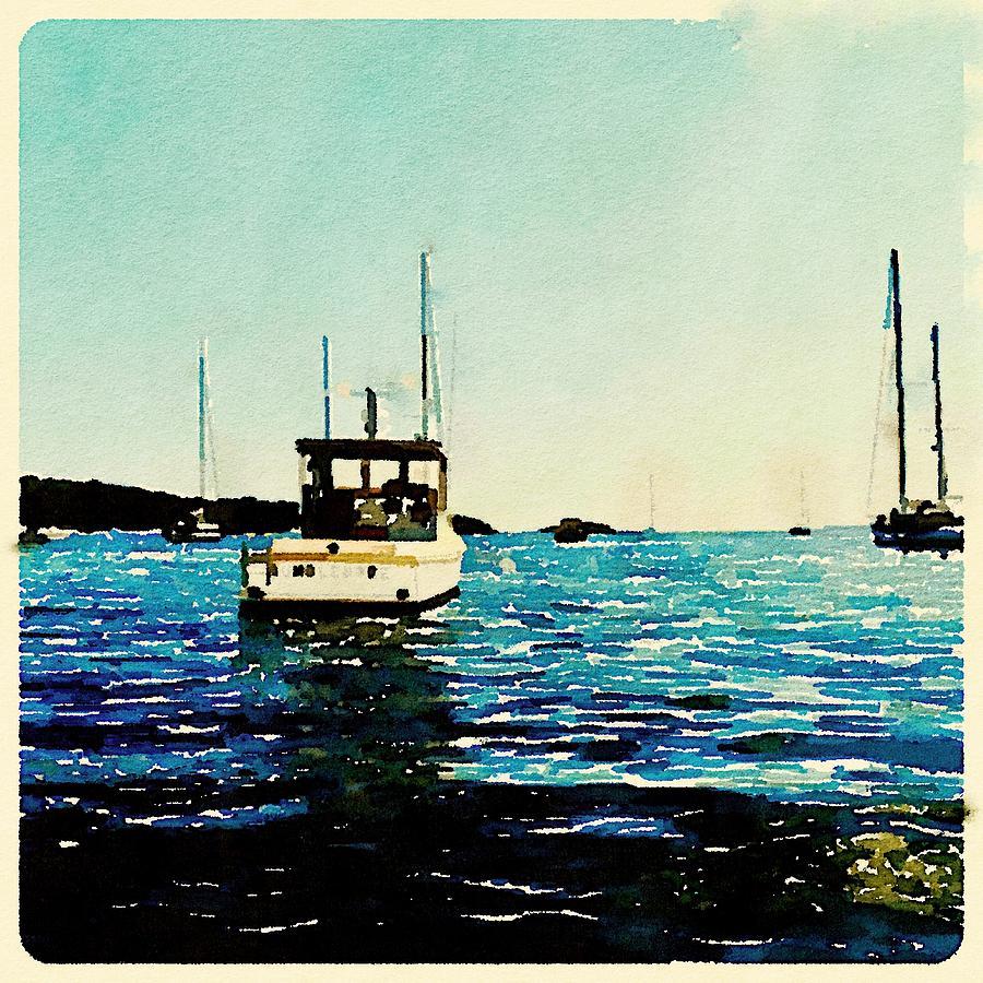 900x900 Watercolor Dumbledore Photograph By Modern Art
