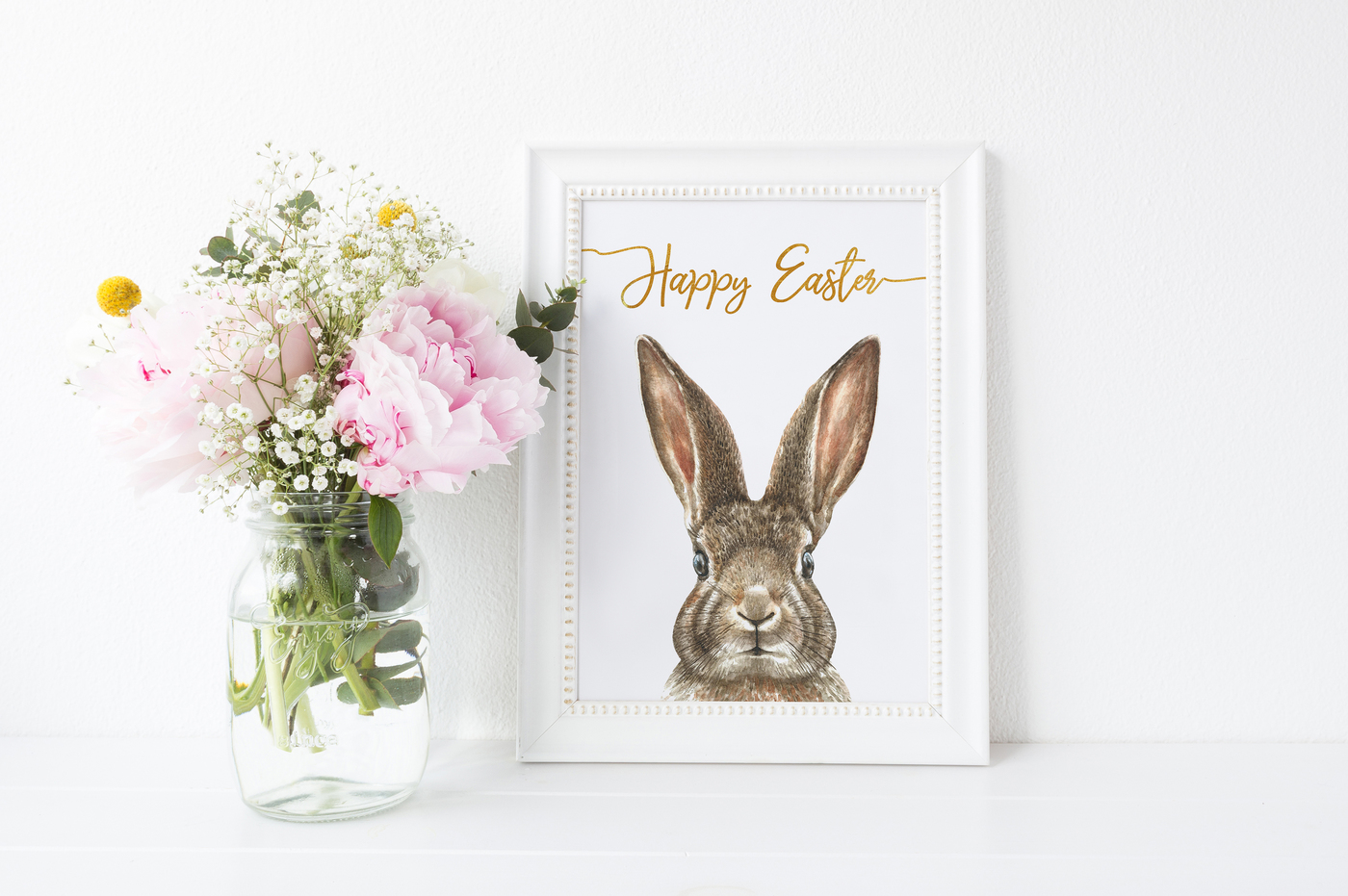 1400x931 Watercolor Easter Bunny Collection By Catherine Wheel