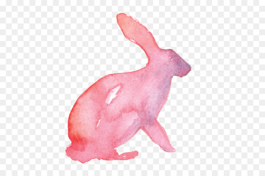 900x600 Domestic Rabbit Easter Bunny Watercolor Painting Drawing