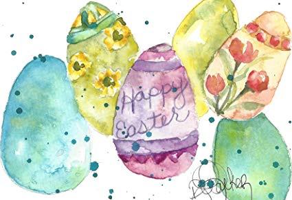 Easter Watercolor