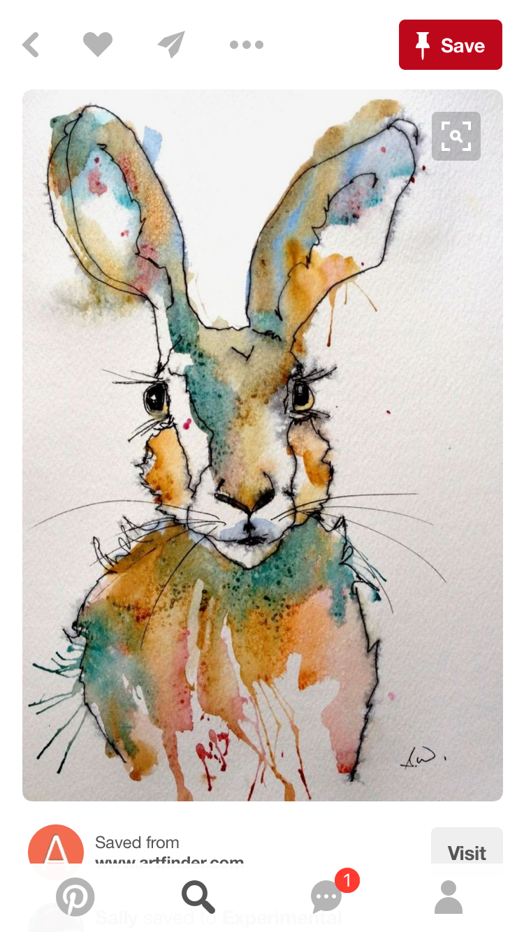750x1334 Easter Easter In 2018 Easter, Watercolor And Rabbit