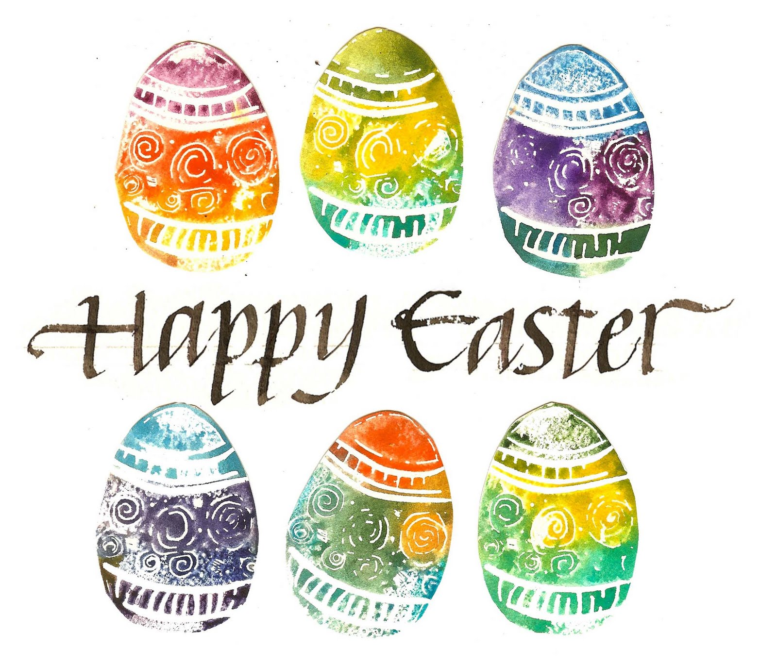 1600x1370 Art Du Jour By Martha Lever Happy Easter