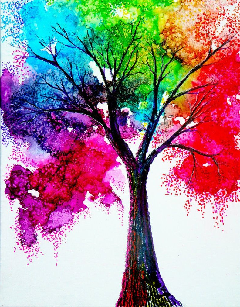 791x1010 Easy Water Color Paintings 25 Beautiful Colorful Watercolor