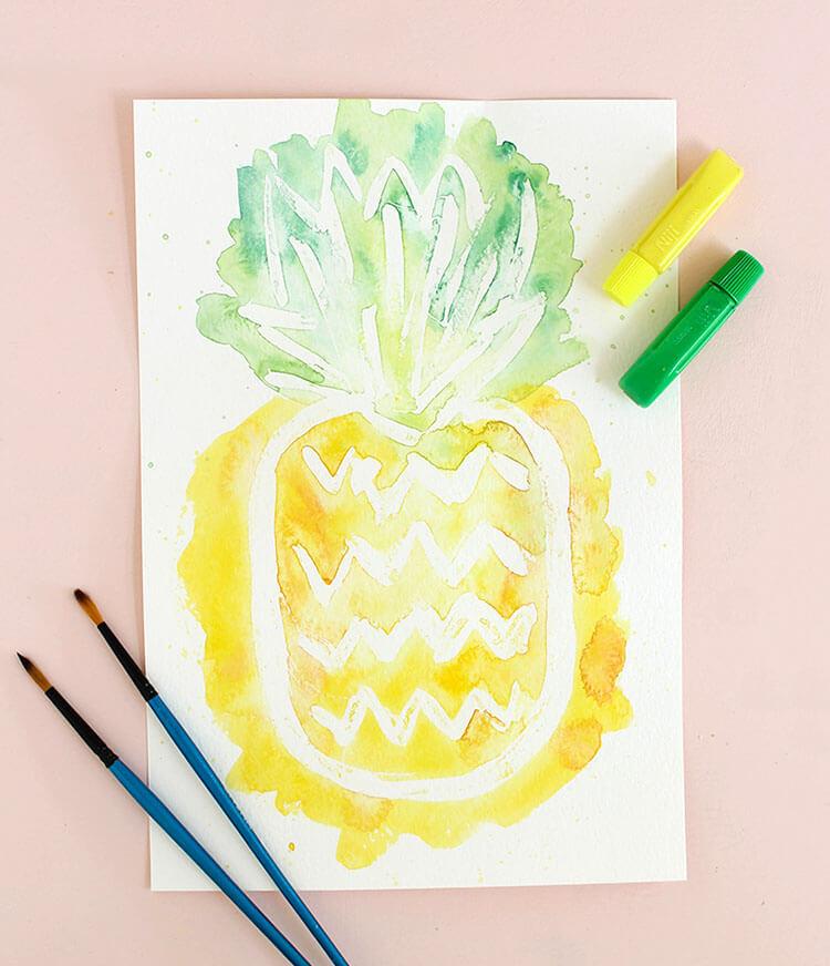 750x872 Easy Watercolor Art