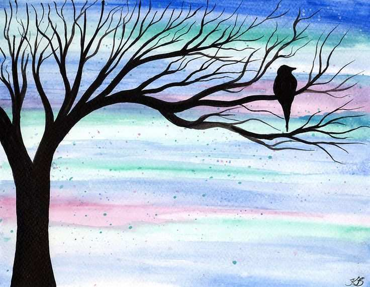 736x571 Easy Watercolor Painting Beautiful Grow Creative Blog Stenciled