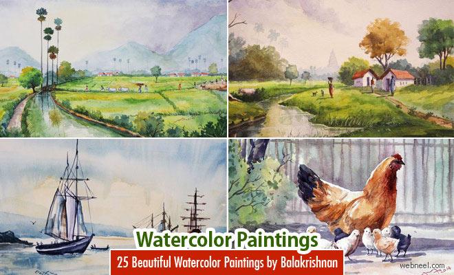 660x400 25 Beautiful Watercolor Paintings By Tanjore Artist Subbaiyan