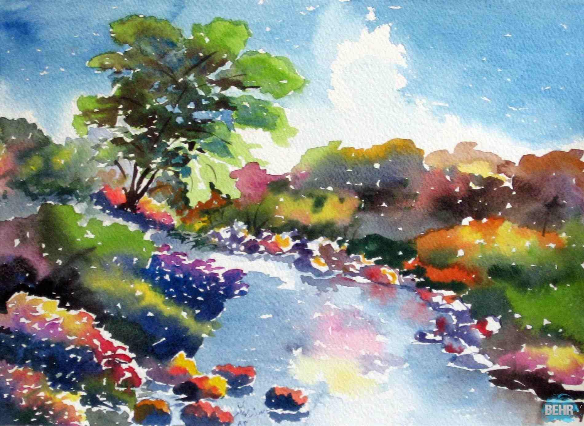 1900x1385 Art Ideas Easy Beautiful Scenery Paintings For Rhcenornetclub