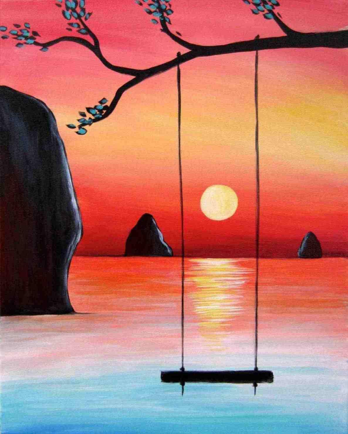 Easy Watercolor Paintings at GetDrawings | Free download
