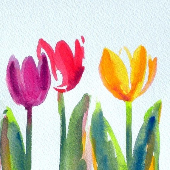 570x571 Watercolor Flower Ideas Awesome 17 Best Ideas About Easy
