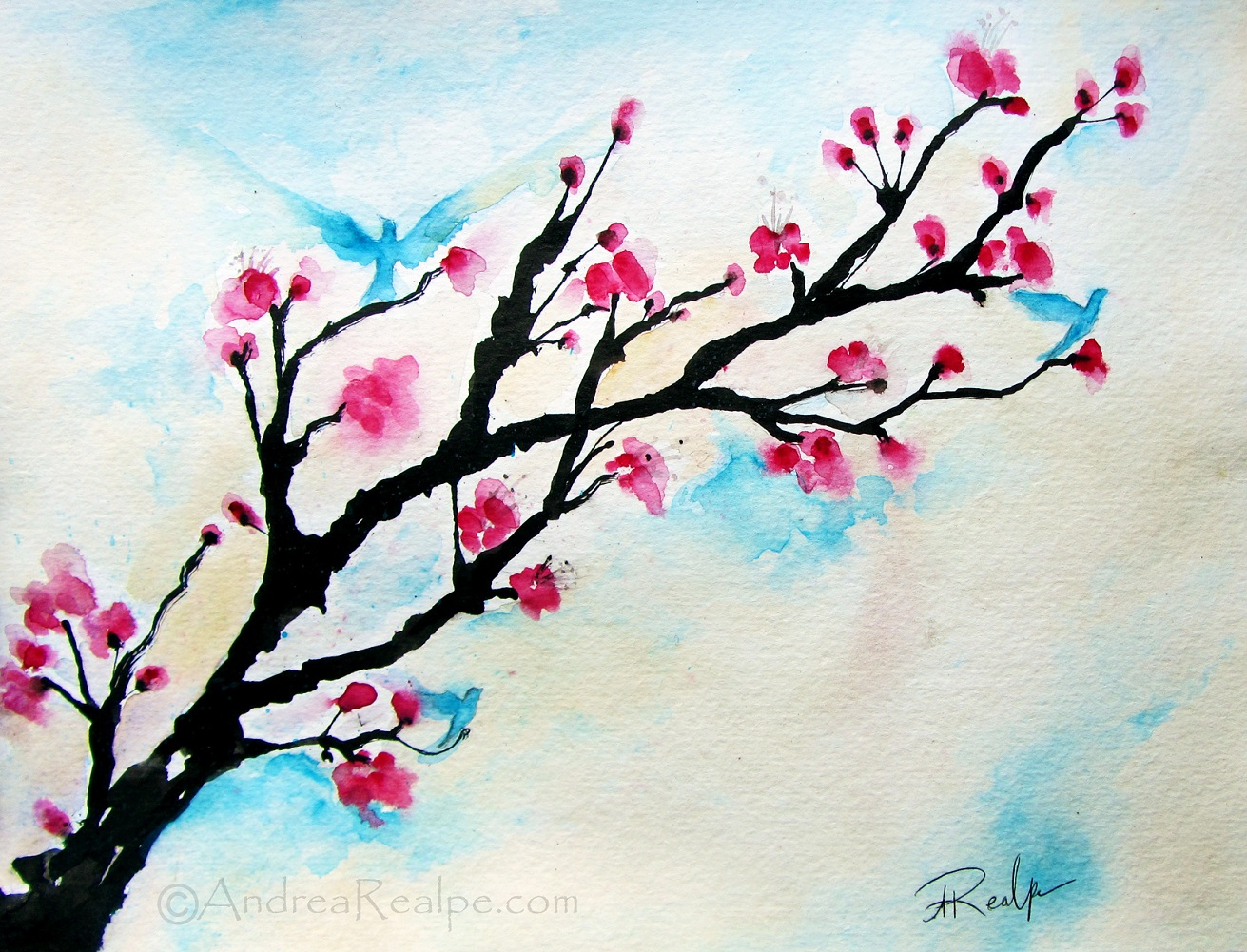 Easy Watercolor Pictures To Paint At Getdrawings Com Free For