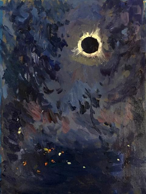480x636 The Great American Eclipse En Plein Air