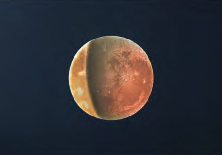 450x314 Watercolor Eclipse Astronomy Sketch Of The Day