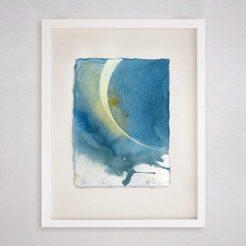 1500x1500 Eclipse (Original Watercolor Painting)