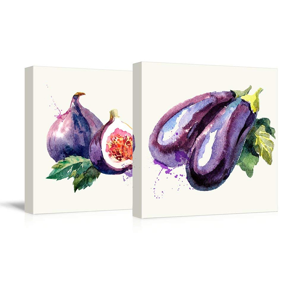 Eggplant Watercolor