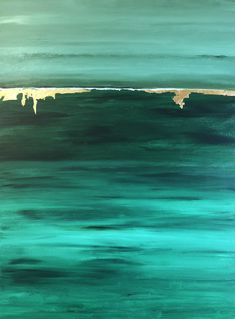 235x319 Emerald Green Watercolor Iii Abstract Art Green
