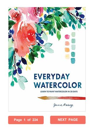 320x452 Everyday Watercolor Jenna Rainey Pdf Learn To Paint Watercolor In