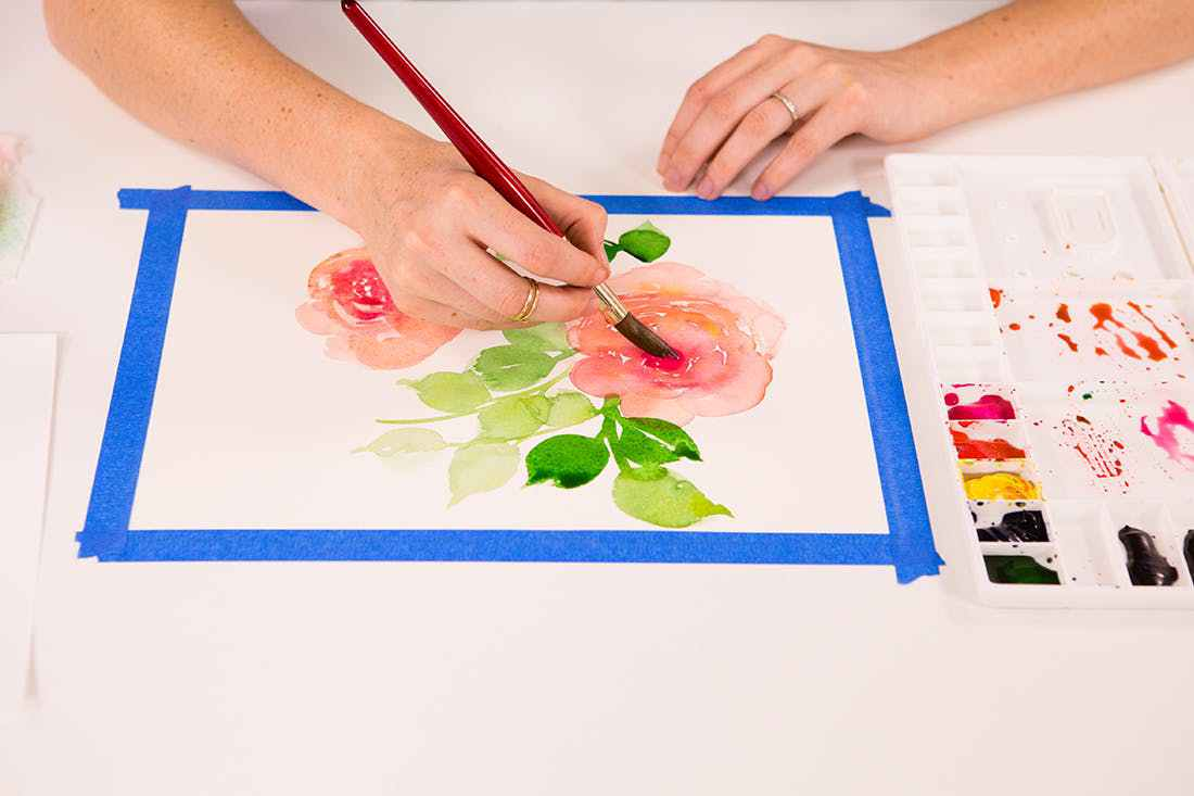 1100x733 Everyday Watercolor Learn To Paint Watercolor In 30 By