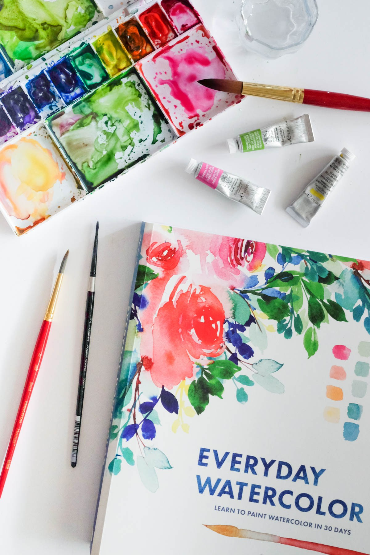 1200x1800 My Watercolour Journey + A Book Review
