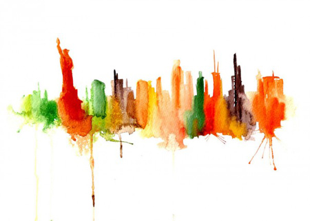 Famous Abstract Watercolor Painting At Getdrawings Com