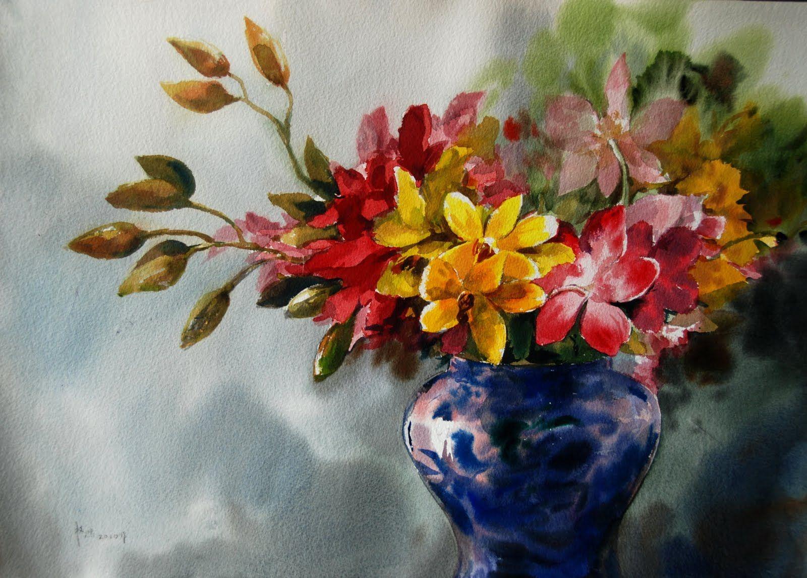 1600x1145 Famous Watercolor Flower Paintings Pictures Famous Watercolor