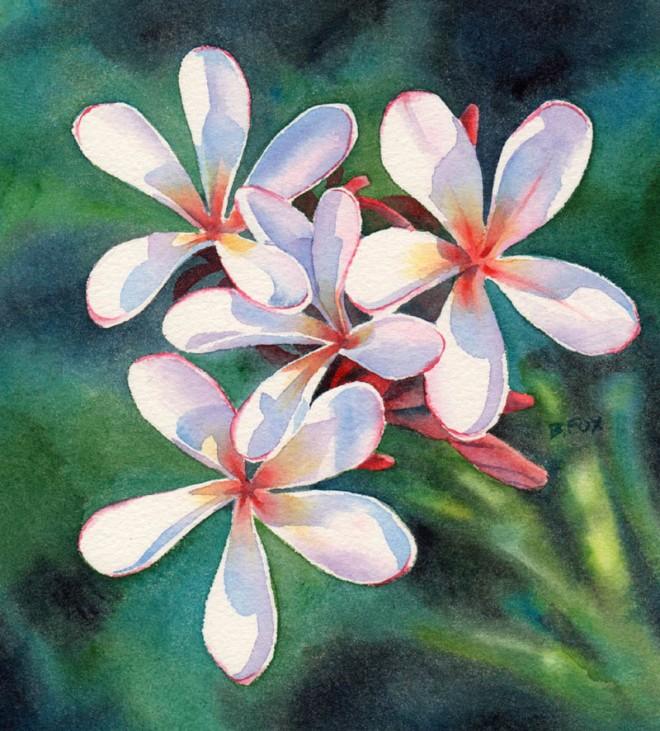 660x731 Famous Watercolor Flower Paintings Weneedfun