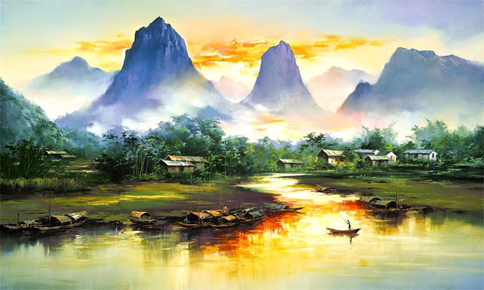 Famous Watercolor Landscapes