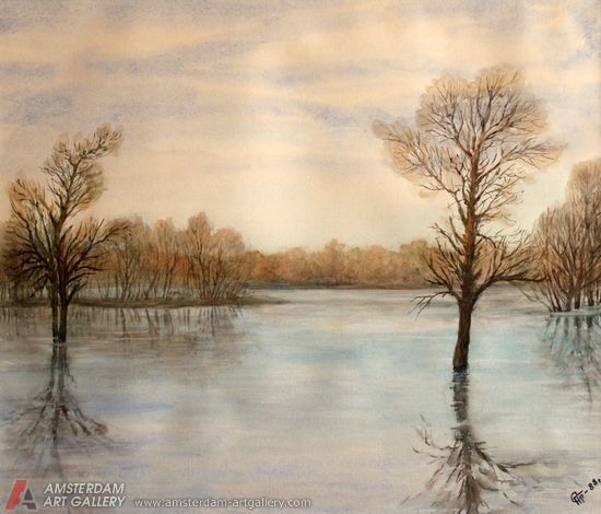 550x470 Famous Watercolor Paintings Famous Watercolor Paintings
