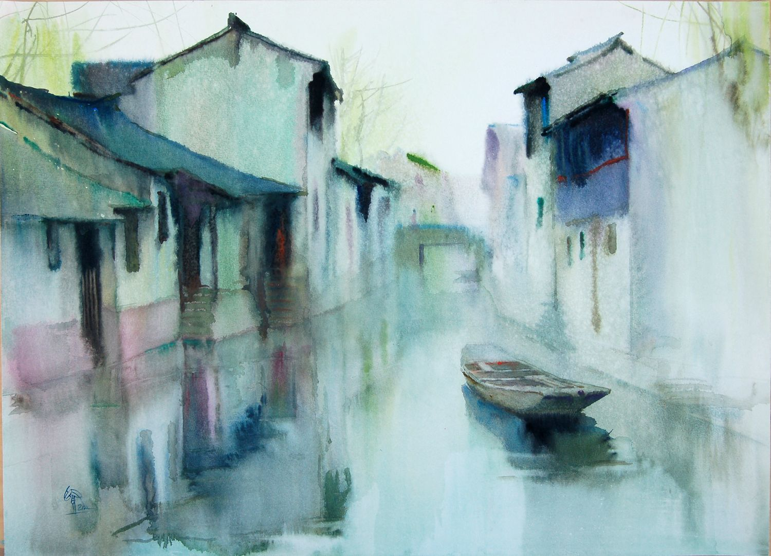 1500x1083 Watercolor Paintings Chinese Watercolor Art Society Houston To