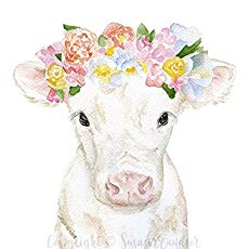 Farm Animal Watercolor