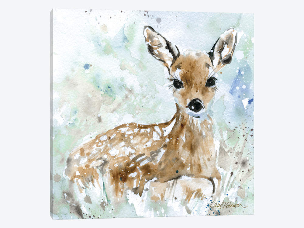 1000x750 Fawn Canvas Artwork By Carol Robinson Icanvas