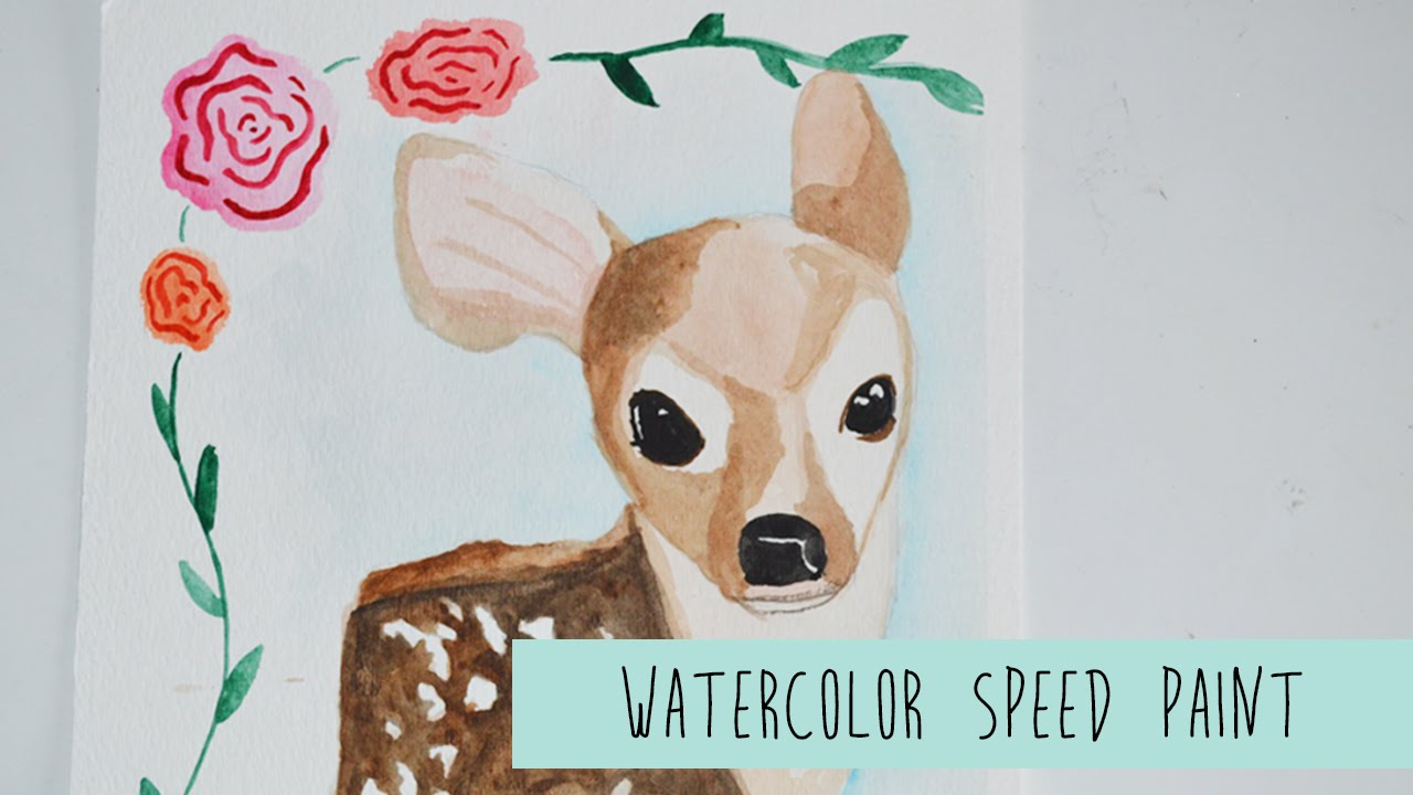1280x720 Speed Paint