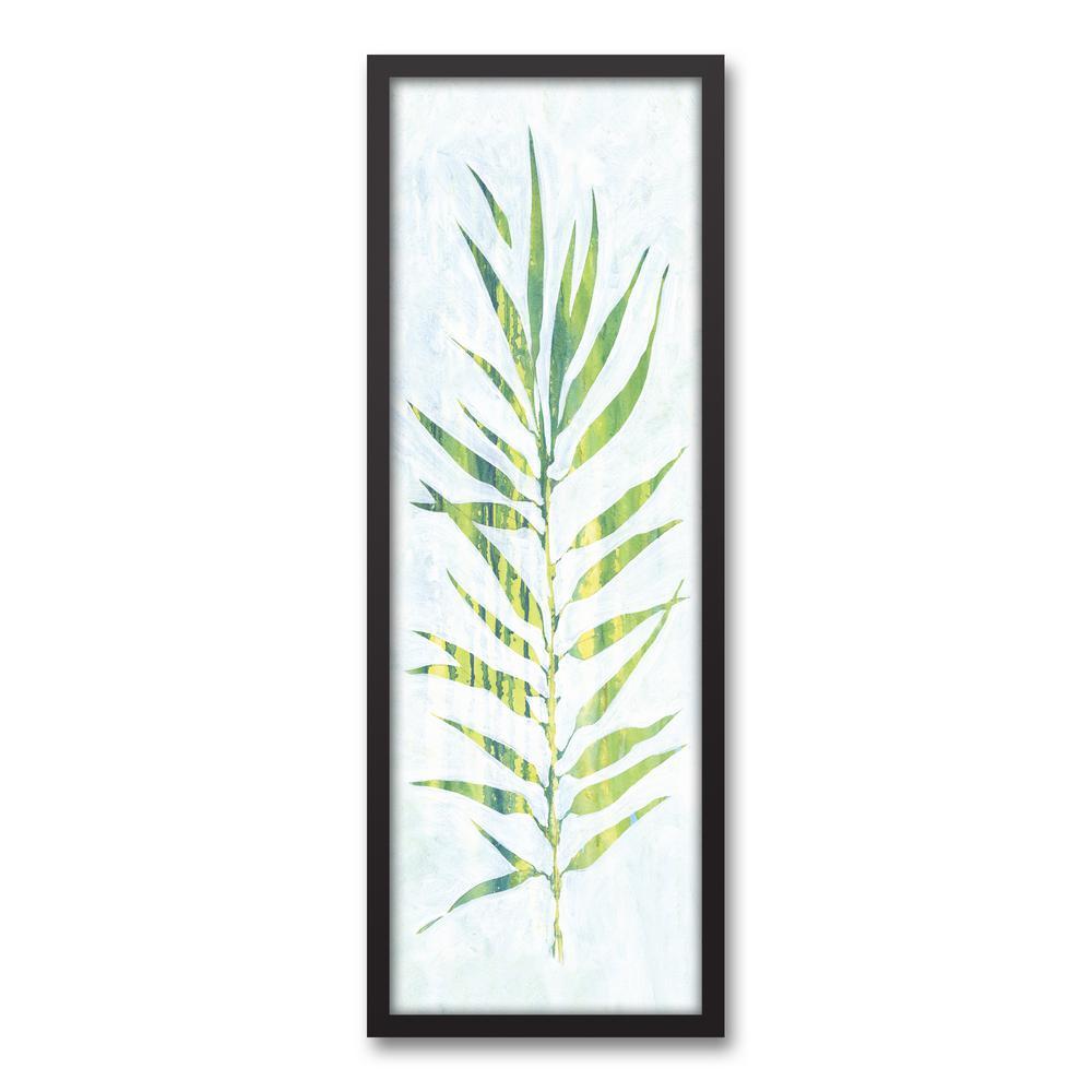 1000x1000 Designs Direct 13.73 In. X 37.73 In. 'Watercolor Fern Leaf