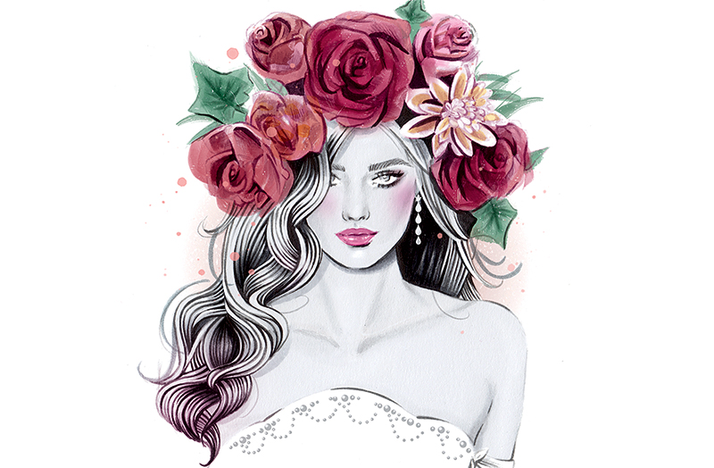Flower Crown Watercolor