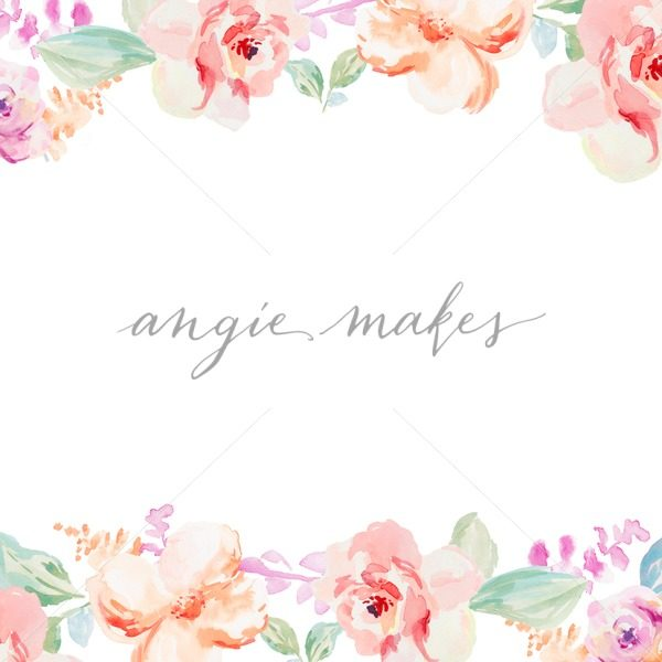 600x600 Download This Adorable Watercolor Spring Flower Border