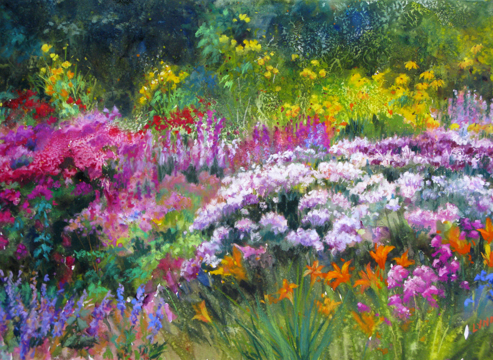 1000x731 The Art Of Lynn Miller Flowers