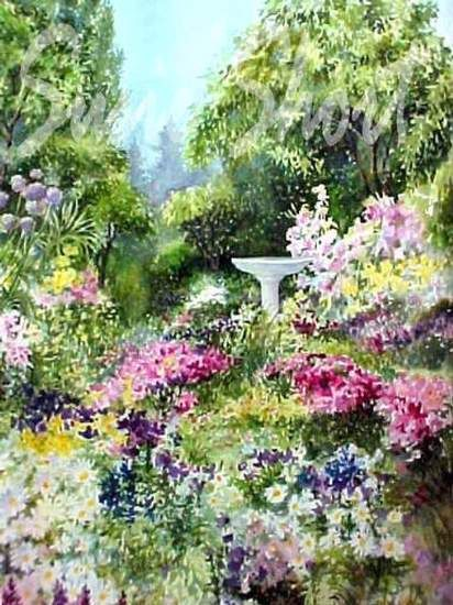 412x550 Watercolor Gardens