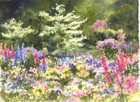 456x331 Watercolor Gardens