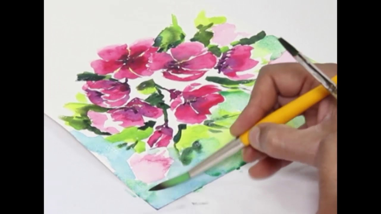 1280x720 Watercolor Demonstration