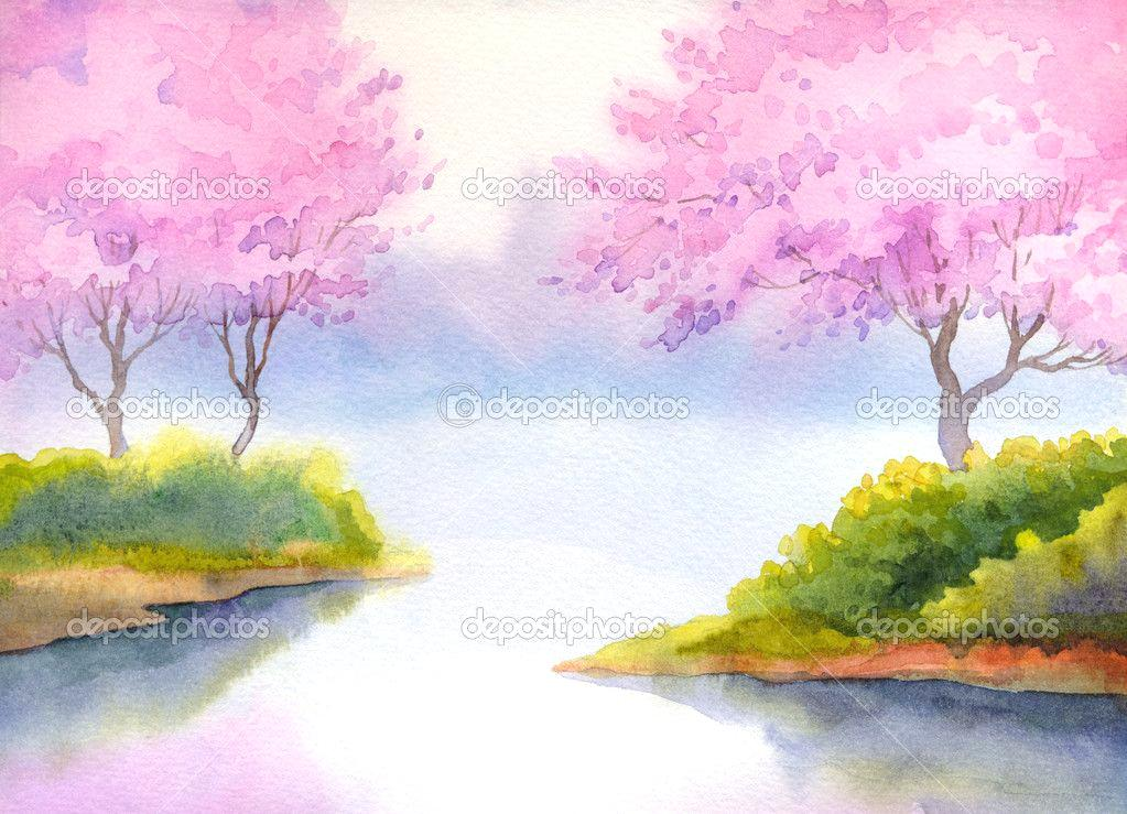 1023x739 Water Color Ideas Watercolor Painting Ideas You Can Do At Home